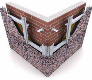 вентилируемых фасадов из керамогранита