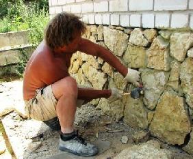 Особенности технологии облицовки фасадов камнем