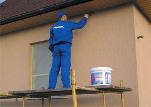 Нюансы работы с фасадной краской