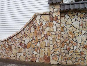 Особенности облицовки фасада натуральным камнем