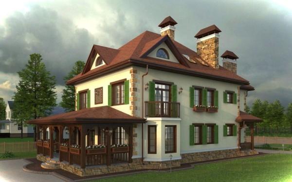 Sozdaem fasad v stile Provans2